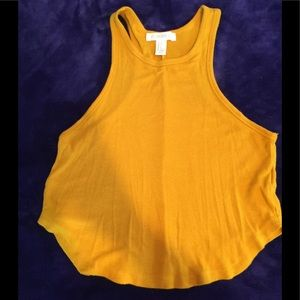 Forever21 mustard color tank